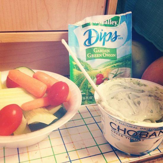 Ranch packet + #chobani = love by @fitmommyprescott