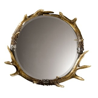 This a fabulous accent wall mirror
