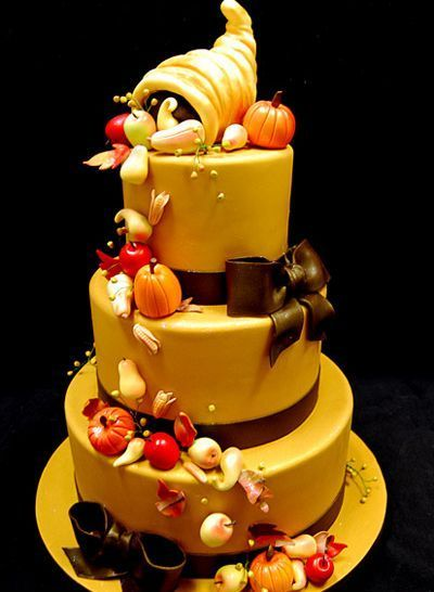 #thanksgiving #wedding #cake
