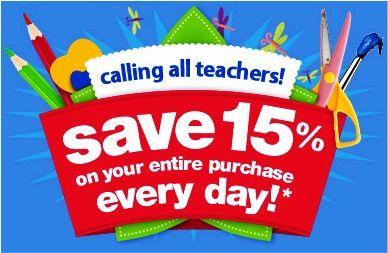 Teacher Discounts !