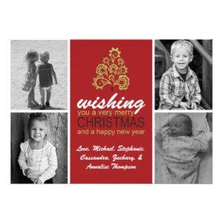 Christmas Tree Holiday Greeting Card