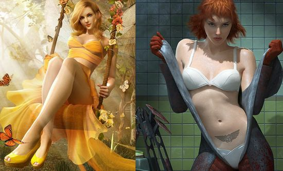 20 Most Beautiful CG Girls and 3D Character Designs for your inspiration. Follow us www.pinterest.com...