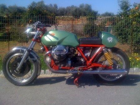 1976 moto guzzi T3 cafe racer