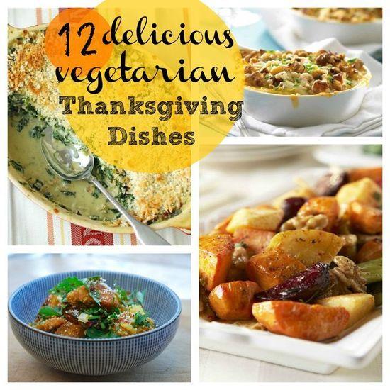 12 Vegetarian Thanksgiving Recipes #Thanksgiving #recipe #Thanksgiving #Recipe #Turkey #Holiday