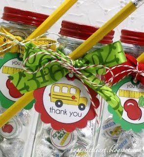 Hershey Kiss Teacher Gift