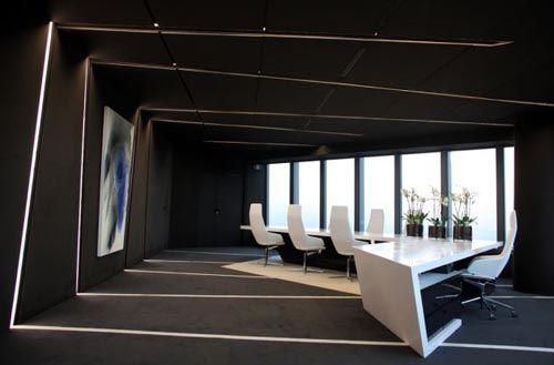 modern office interior design color