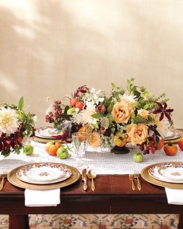 Summery Tablescape