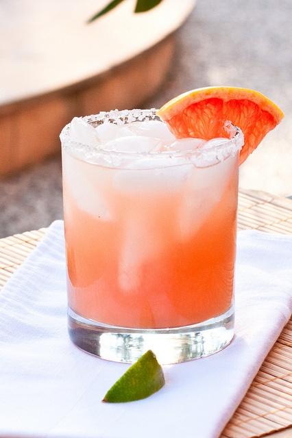 Grapefruit Margarita, via Flickr.