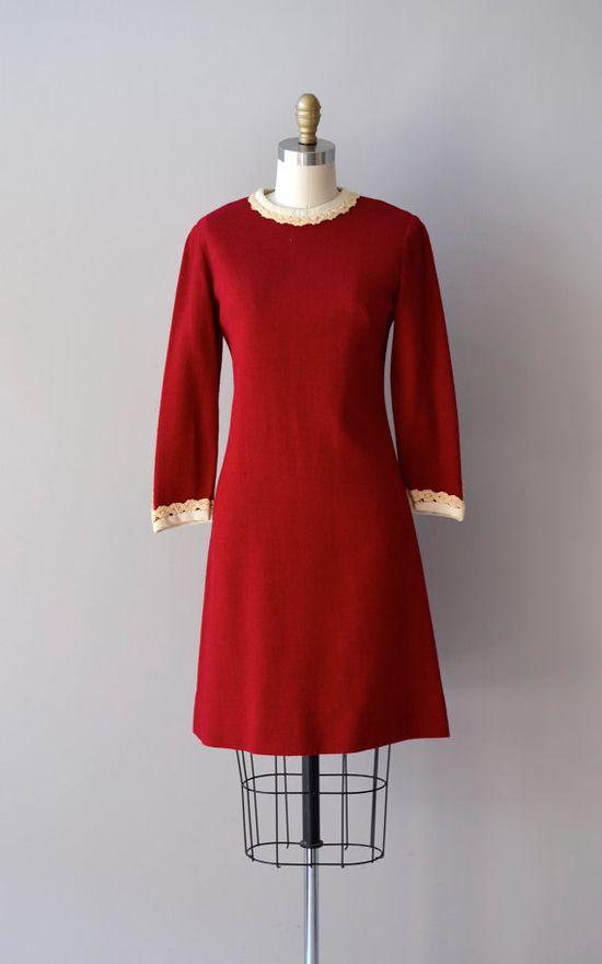 vintage 1960s Twelve Days dress    #1960s #mod #minidress #vintagedress