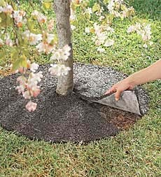 American-Made Perma Mulch Recycled Rubber Tree Rings