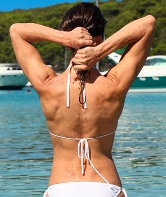 The Sexy Back Workout Video: 8 Moves To Banish Bra Bulge
