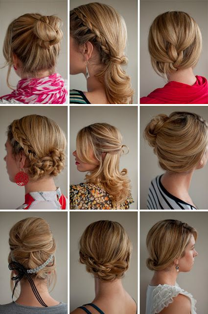 30 different hair styles
