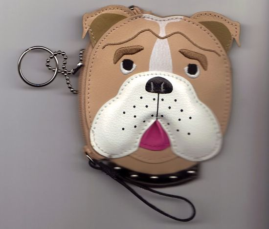 Thread: Indiana Bulldog Rescue Auction: English Bulldog Coin Purse
