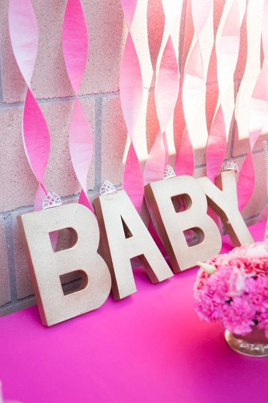 Cute Baby Sign for the Shower