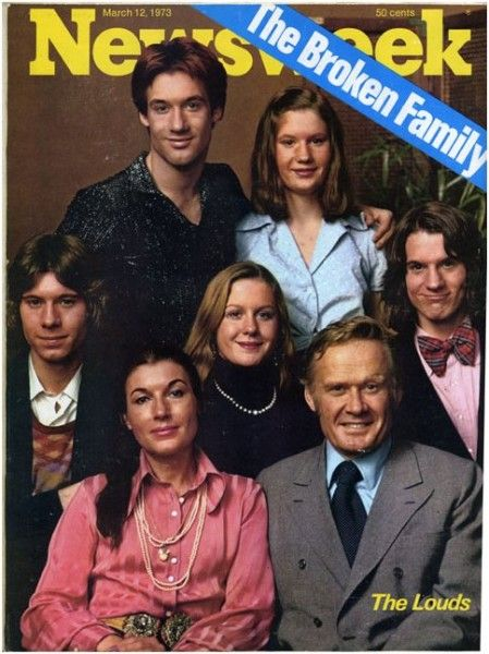 The Loud Family (An American Family) was the first reality TV show.  The 'shocking' issues included the Louds getting a divorce and finding out their adult son was gay. I had a crush on Grant (on right).