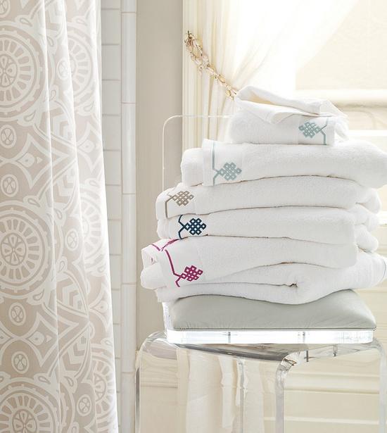 Our new Gobi Bath Towels. #serenaandlily