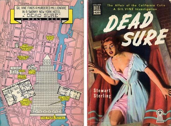 Dead Sure (1949) by Stewart Sterling Book Covers: Vintage Paperbacks, Mars Sci-Fi, via Flickr