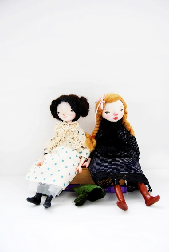 Such a sweet dolls! by Sophie Jareangjit
