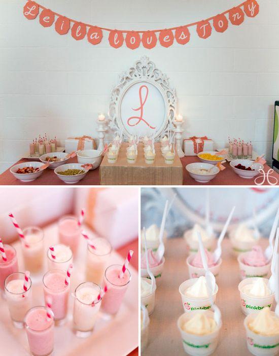 Pink bridal shower!