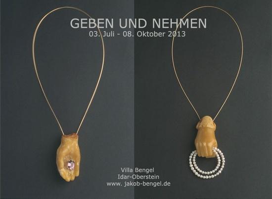 """TASSO MATTAR: """"GEBEN UND NEHMEN"""" - Industriedenkmal Jakob Bengel  Wilhelmstraße 44, 55743 Idar-Oberstein - 3 juill-8 oct 2013 - - X"""