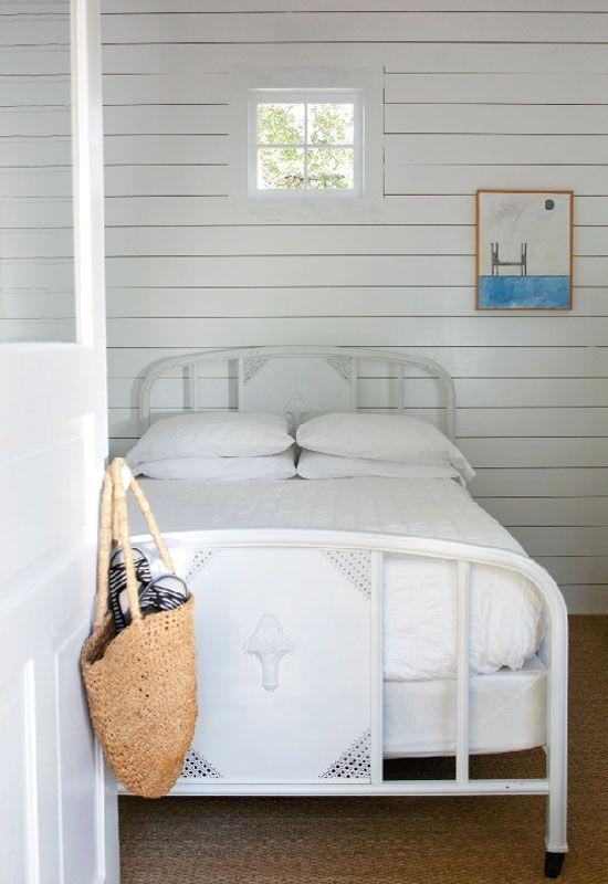 vintage beach style bedroom