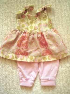 cute baby girl dress pattern