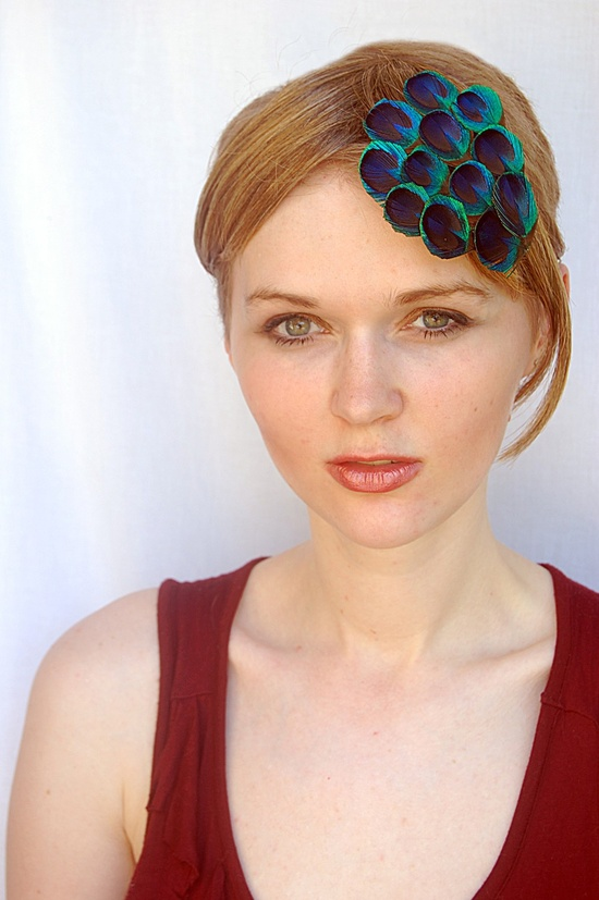 Cute Peacock Hair Accessory