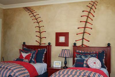 Baseball Bedroom Decorating