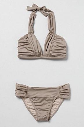 modern triangle bikini