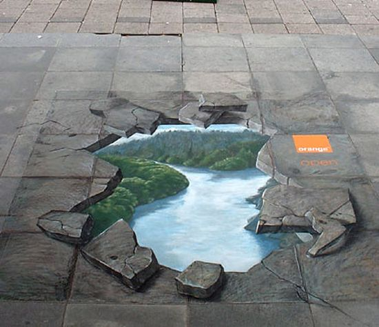3D Sidewalk Chalk Art: 4 of the World's Most Talented Street Artists