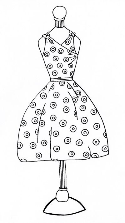 Polka Dotted Pink! Pattern