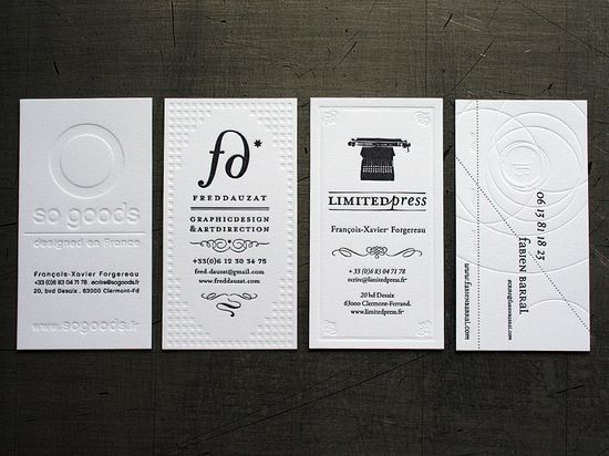 Fabien Barral Business Cards