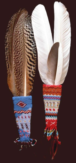 Crazy Horse Prayer Feathers ~ Native American Art
