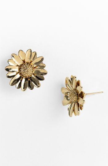 kate spade new york daisy stud earrings | Nordstrom Sparkly pavé centers light up pretty floral studs. kate spade new york daisy stud earrings