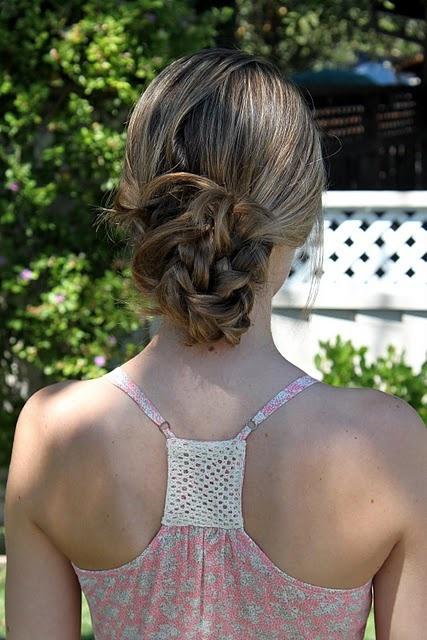 braid knot hair tutorial #hair