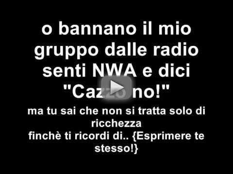 NWA  -Express Yourself (Italiano) - SEGUITEMI SU