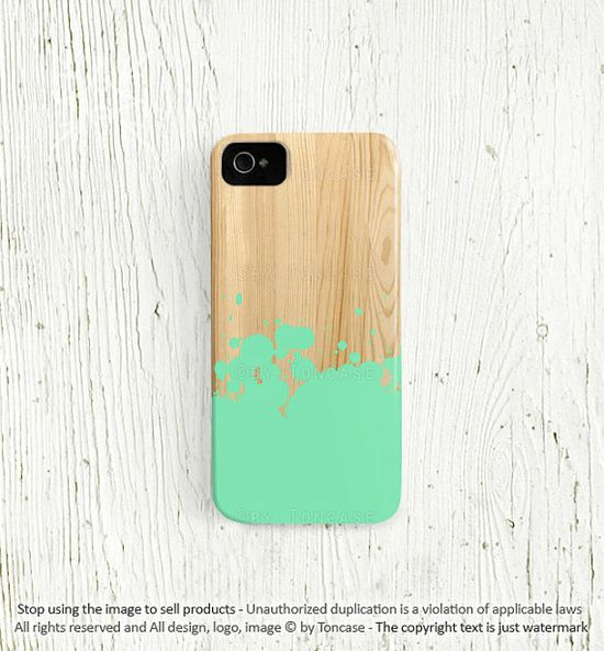 Mint iPhone 4 case Mint iphone 5 case  iPhone 4s case by TonCase, $19.99