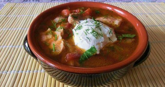 Borsch (Soup) - Russian Cuisine