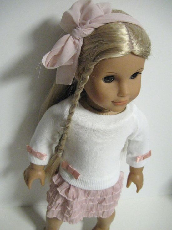 American Girl Doll- Pretty in Pink via Etsy
