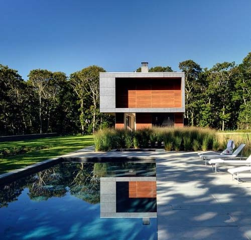 Modern House Design with Natural Landscape