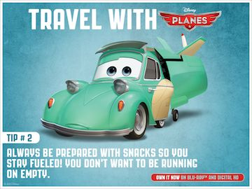 Holiday Travel Tips from Disney's Planes!