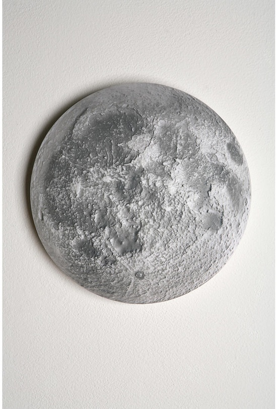 The MOON: Remote controlled moon with real phases.