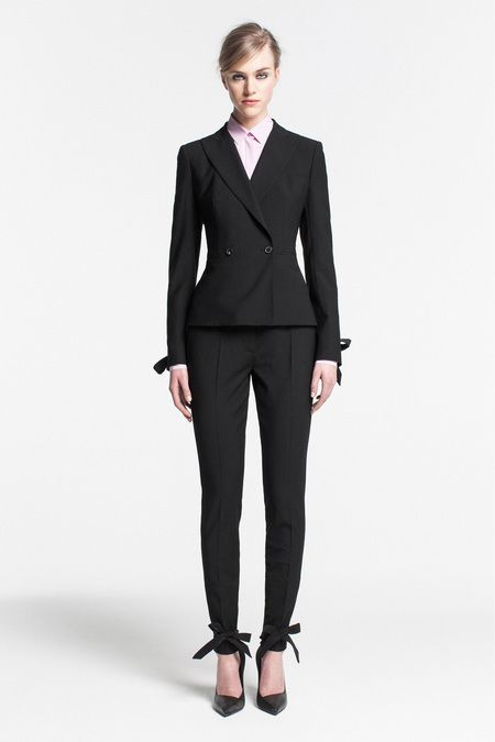PRE-FALL 2013  Vionnet Nothing better than a suit