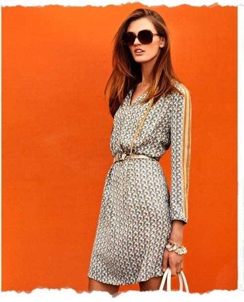 Tory Burch print dress.