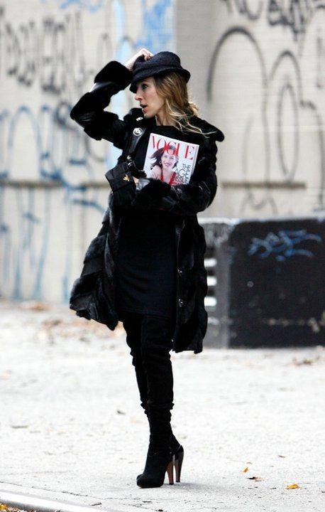Sarah Jessica Parker(Carrie Bradshaw)
