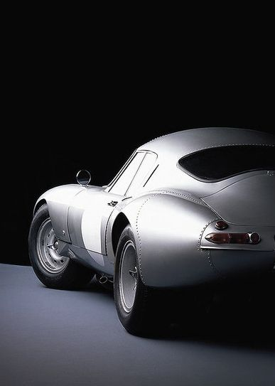 ? silver car 1964 Jaguar Lindner Nocker Low Drag E-Type…