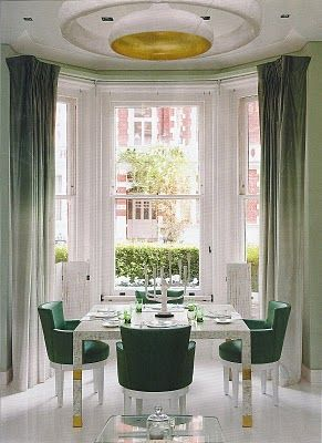 Luxe dining room