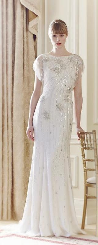 Jenny Packham 1920s Inspired Wedding Dress
