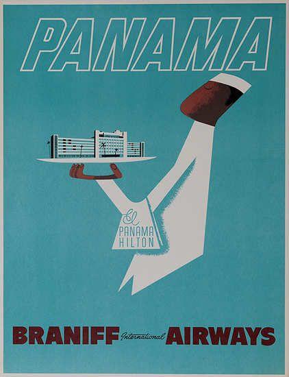 Panama * Braniff Airways