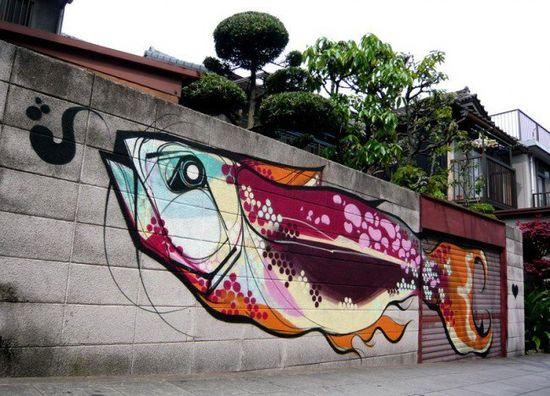 Beautiful grafitti
